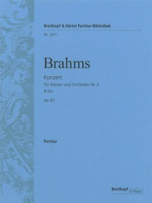 Brahms Johannes : Klavierkonzert 2 B-dur op. 83
