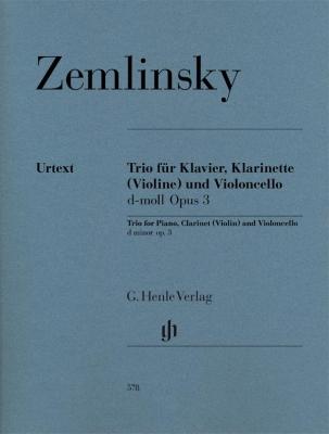 Zemlinsky Alexander : Trio for Piano, Clarinet (Violin) and Violoncello in d minor op. 3