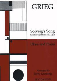 Solveig's Song / Grieg - Hautbois Et Piano
