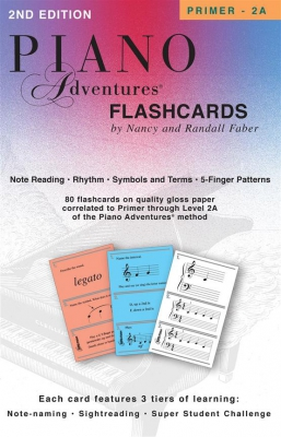 Piano Adventures Flashcards In - A - Box