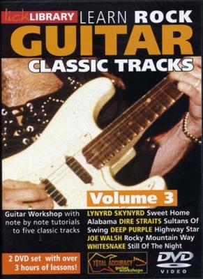 Dvd Lick Library Classic Rock Tracks Vol.3 2 Dvd