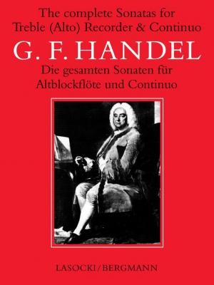 Haendel Georg Friedrich : Complete Recorder Sonatas
