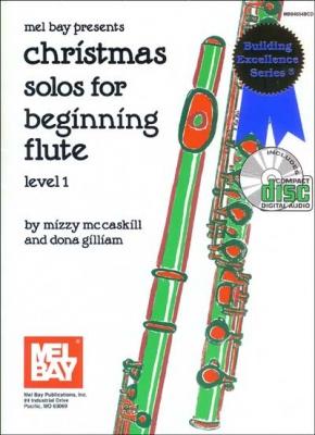 Gilliam Dona : Christmas Solos for Beginning Flute