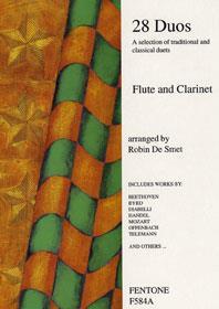 28 Duos / De Smet - Flûte Et Clarinette
