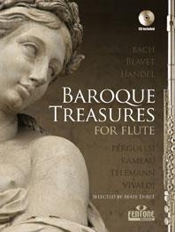 Baroque Treasures For Flûte / Flûte Traversière