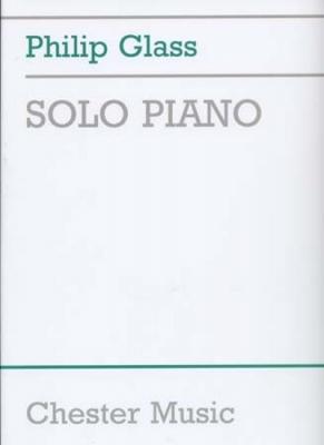 Glass Philip : Glass Philip Solo Piano