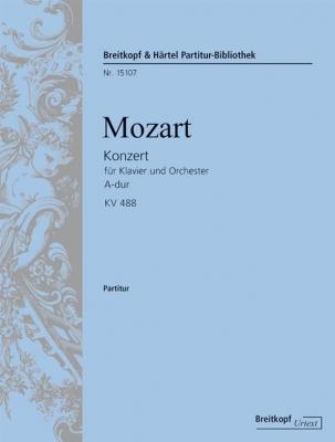 Mozart Wolfgang Amadeus : Klavierkonzert 23 A-dur KV 488