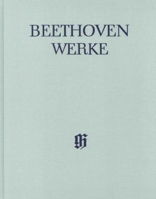 Beethoven Ludwig Van : Piano Concertos I No. 1-3 (with critical report)