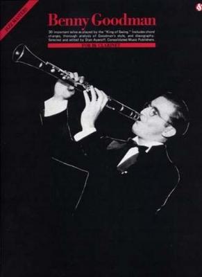 Goodman Benny : Goodman Benny Jazz Masters 30 Solos Bb Clarinet
