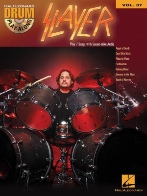 Drum Play Along Vol.37 : Slayer - Book
