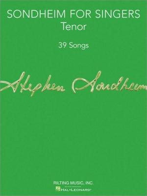 Sondheim Stephen : Sondheim For Singers: Tenor
