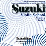 Suzuki Violin School Cd, Vol.2 (Revised)