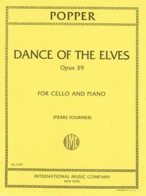 Popper David : DANCE OF THE ELVES OP39 Vc Pft