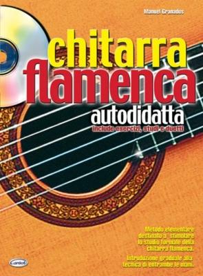 Granados Manuel : CHITARRA FLAMENCA AUTODID.+CD
