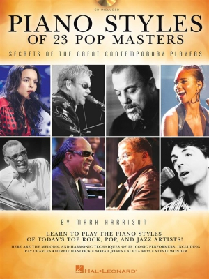 Piano Styles Of 23 Pop Masters : Secrets Of The Great Contemporary Players