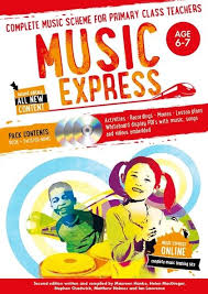 Music Express : Age 6 - 7 - 2Nd Edition - 3 Cd's + Dvd - Rom