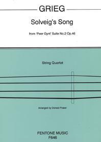 Solveig's Song / Grieg - Quatuor A Cordes