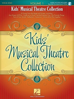 Kids' Musical Theatre Collection : Vol.1 - Book-Online Audio