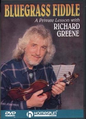 Greene Richard : Dvd Bluegrass Fiddle Richard Greene