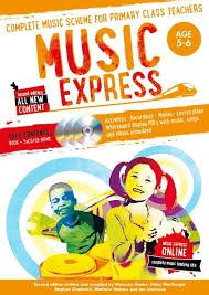 Music Express : Age 5 - 6 - 2Nd Edition - 3 Cd's + Dvd - Rom