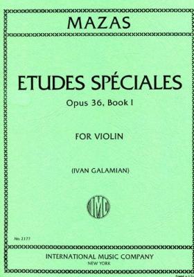 Etudes Speciales Op. 36, Book I