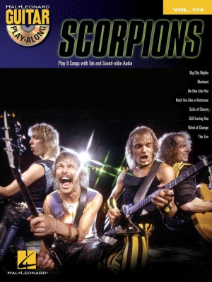 Scorpions : Guitar Play-Along Volume 174: Scorpions