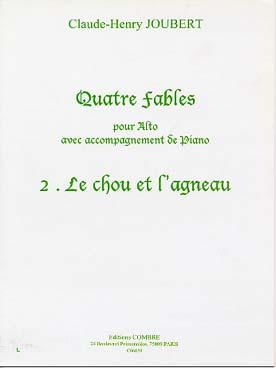 Le Chou Et L'Agneau #2 De '4 Fables'
