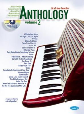 Cappellari Andrea : ANTHOLOGY ACCORDEON 2 + CD
