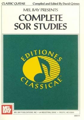 Grimes David : Complete Sor Studies for Guitar