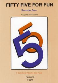 55 For Fun / Arr. De Smet - Flûte A Bec Solo