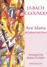 AVE MARIA / Bach, Gounod - Clarinette et piano