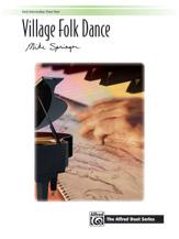 Springer Mike : Village Folk Dance (1 piano 4 hands)