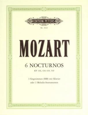 6 Nocturnes K.346, K.436-9, 549 (It./Ger.)