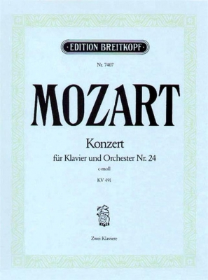 Mozart Wolfgang Amadeus : Klavierkonzert 24 c-moll KV491
