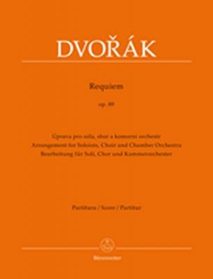 Dvorak Antonin : Requiem op. 89