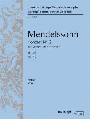Mendelssohn-Bartholdy Felix : Klavierkonzert Nr. 2 op. 40