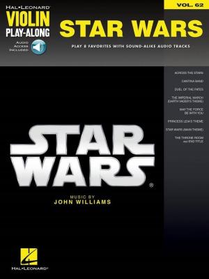 Williams John : Violin Play-Along Volume 62: Star Wars