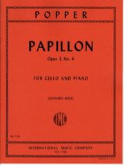 Popper David : PAPILLON OP3 Vc Pft