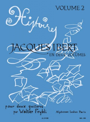 Ibert Jacques / Feybli : Histoires Volume 2 No7 A 10 2 Guitares