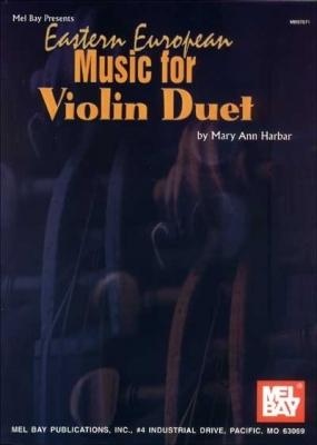 Harbar Mary Ann : Eastern European Music for Violin Duet