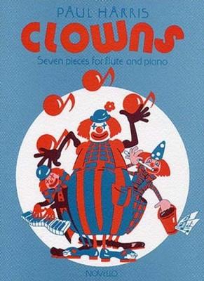 Harris Paul : Harris Clowns Flute/Piano
