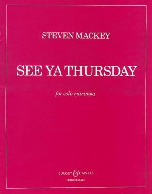 Mackey Steven : See Ya Thursday