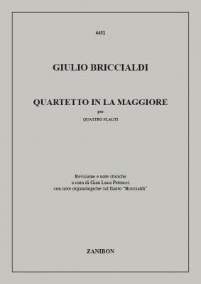 Quartetto In La Maggiore, Per Quattro Flauti