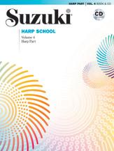Waddington Mary Kay : Suzuki Harp School Harp Part and CD, Volume 4