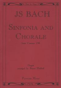 Sinfonia And Chorale, Bwv156 / J.S. Bach - Orgue