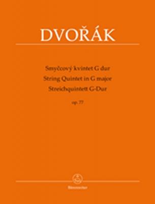 Dvorak Antonin : String Quintet G major op. 77