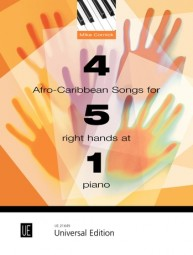 4 Afro-Caribbean Songs for 5 Right Hands at 1 Piano