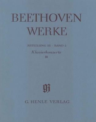 Piano Concertos III