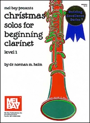 Heim Norman : Christmas Solos for Beginning Clarinet Level 1