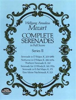 Mozart Wolfgang Amadeus : Complete Serenades In Full Score - Series II